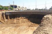احتمال بهره برداری از تقاطع بزرگراه بروجردی با میدان جانبازان تا پایان بهار ١٤٠٠