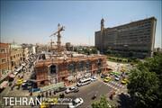بازدید معاون فنی و عمرانی شهرداری تهران از پروژه احداث خانه شهر