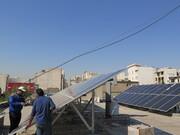 پیشرفت ۸۰ درصدی نیروگاه خورشیدی منطقه ۱۷