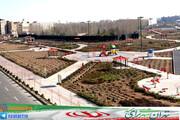 ساخت ۱۲ بوستان و مرکز تفرجگاهی