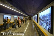 گذرگاههای مترو فضایی برای انتقال فرهنگ اقوام ایرانی است