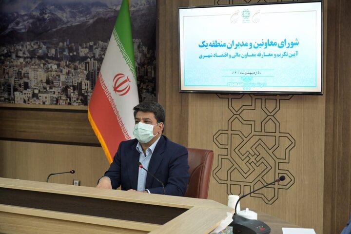 تلاش بی وقفه مدیریت شهری شمال تهران در نگهداشت شهر