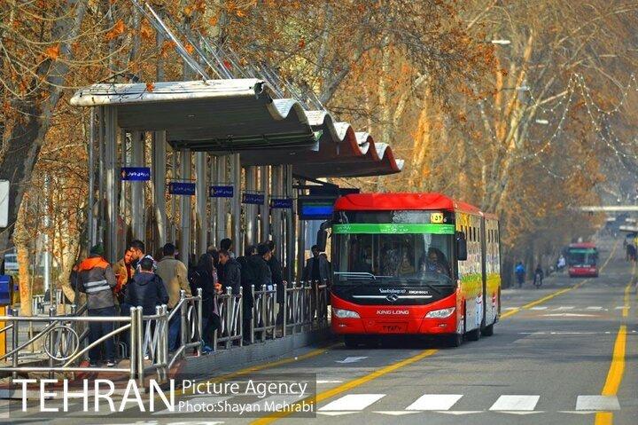 اتوبوسهای شهری محلی برای اخذ رأی انتخابات