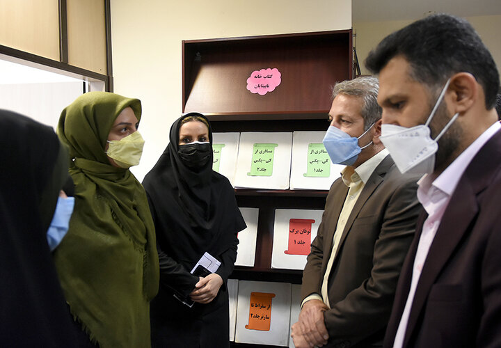 پروژه مناسب سازی سرای محله مینا در منطقه ۱۴ تهران افتتاح شد