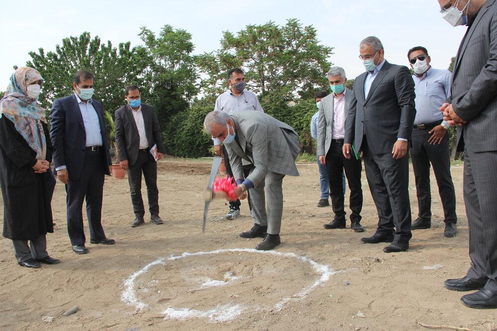 کلنگ اولین مددسرای فرامنطقه ای شهر تهران به زمین زده شد