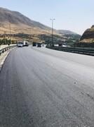 پخش بیش از 40 هزار تن آسفالت در شمال شرق تهران