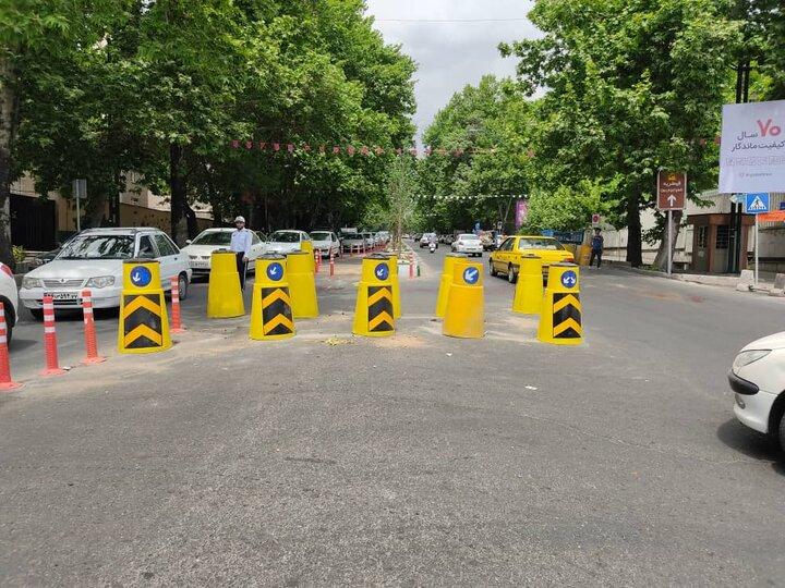 تردد در خیابان شریعتی روان می شود