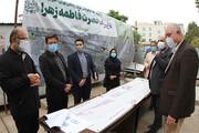 بازدید ازپروژه پروژه احداث باغ راه حضرت فاطمه زهرا (س)