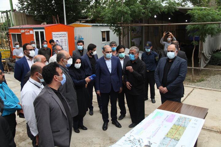بهره برداری از ورودی بزرگراه شهید بروجردی به آزادگان