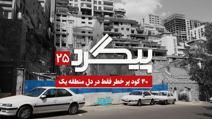 ۴٨ گود پرخطر، فقط در منطقه یک تهران