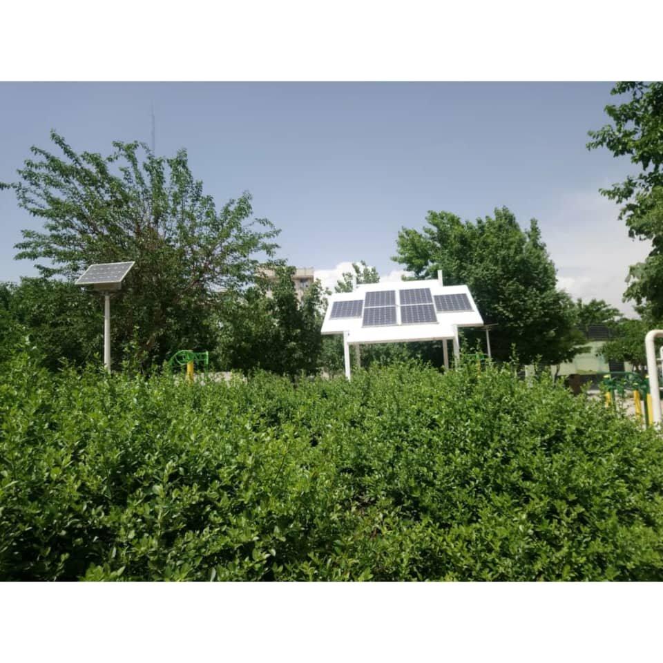 بوستان انرژی منطقه۱۷ با روشنایی پاک جان میگیرد
