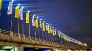 آغاز طرح نورپردازی پل های سواره رو در منطقه ۲