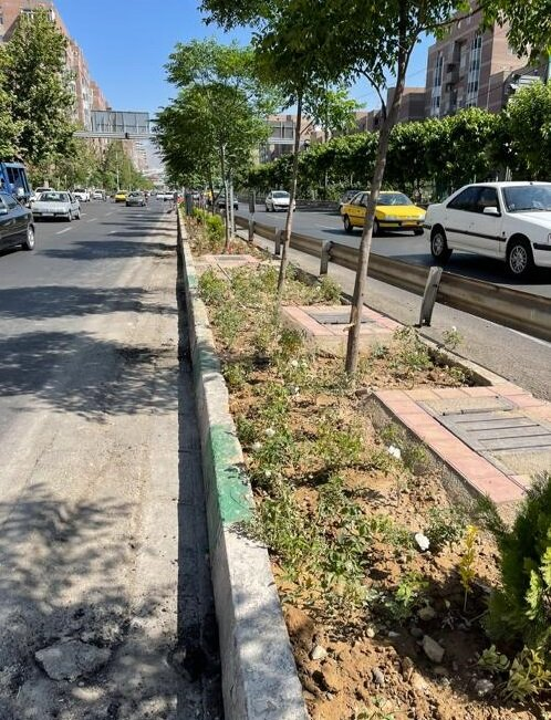 تامین ایمنی تردد عابرین پیاده و افزایش سرانه فضای سبز منطقه ۱۰