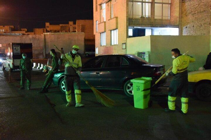 ارائه خدمات به زائران در حرم حضرت عبدالعظیم (ع)
