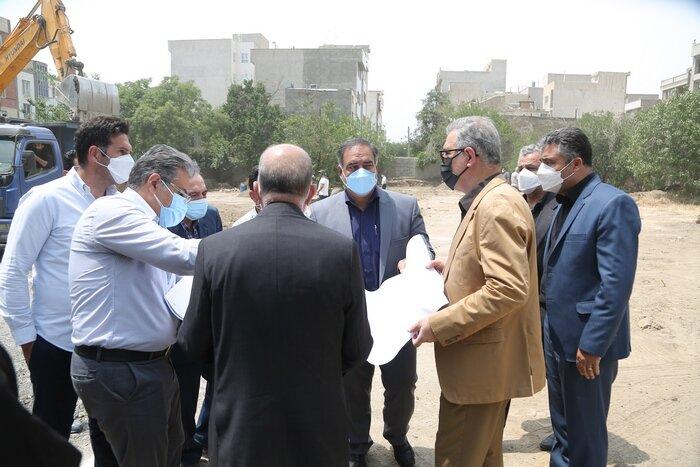 آغاز احداث و عملیات اجرایی بوستان حکیم در منطقه ۱۰ تهران