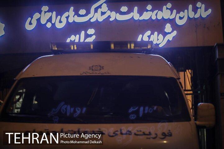 شب های تهران،فوریت های خدمات اجتماعی