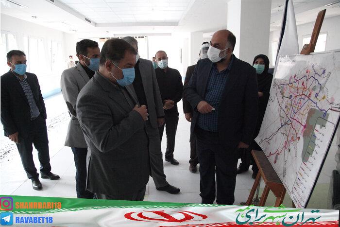 آزادسازی قدیمی ترین معارض ملکی در گذر شهیدان بهرامی