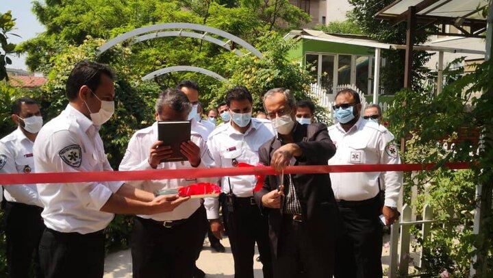هجدهمین پایگاه اورژانس منطقه ۴ تهران به بهره برداری رسید