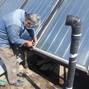 تعمیر آبگرمکن های خورشیدی بوستان های منطقه ۳ تهران