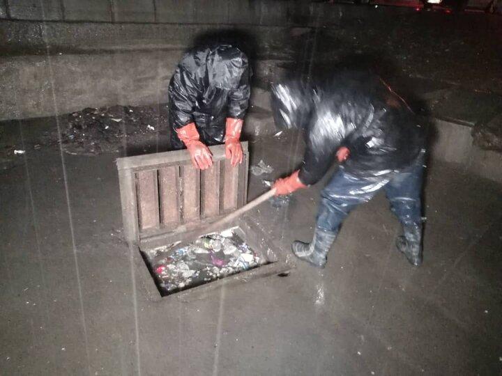 اجرای اقدامات پیشگیرانه مدیریت بحران سیلاب در بارش های بهاری