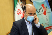 ارتباط تلفنی شهردار منطقه ۶ تهران با شهروندان