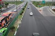 بهسازی آسفالت های معابر جنوب تهران
