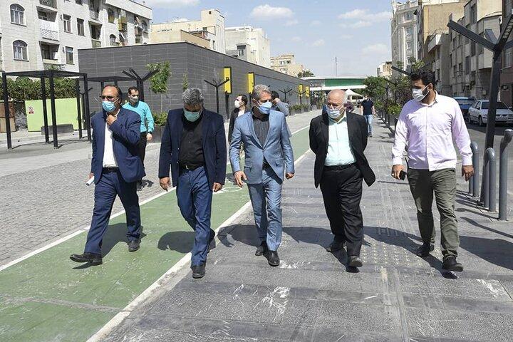 بازدید عضو شورای اسلامی شهر تهران از منطقه ۱۴