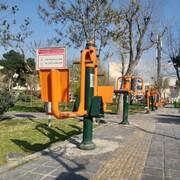 تجهیز بوستانهای منطقه ۱۵ به وسایل بازی کودکان