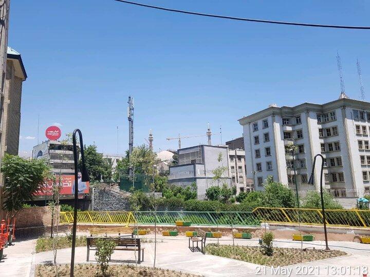 بیستودومین بوستان محلهای در منطقه ۶ به بهرهبرداری رسید