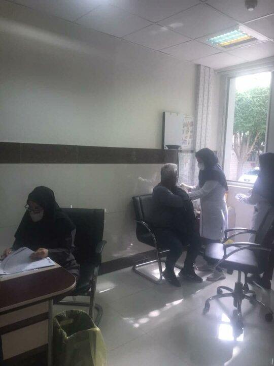 اجرای فاز دوم واکسیناسیون پاکبانان منطقه ۱۵ علیه کرونا