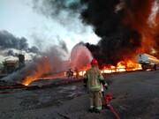 حضور ۱۵۰ آتش نشان/ بکارگیری همه دستگاه ها و تجهیزات