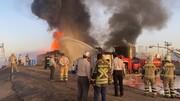 تجلیل شورایی ها از آتش نشانان حاضر در حادثه پالایشگاه تندگویان