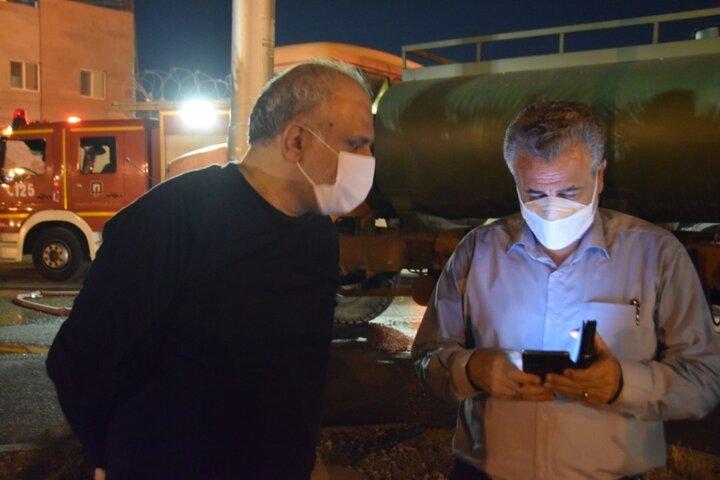 ۷۰ تانکر آب دیگر برای کمک به آتش نشانی آماده شد