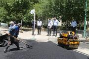 توزیع بیش از  ۲۵۰۰ تن آسفالت برای بهسازی معابر منطقه ۱۵
