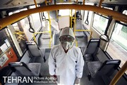 عدم فعالیت ۳۰ درصد از اتوبوسهای بخش خصوصی به دلیل کرونا