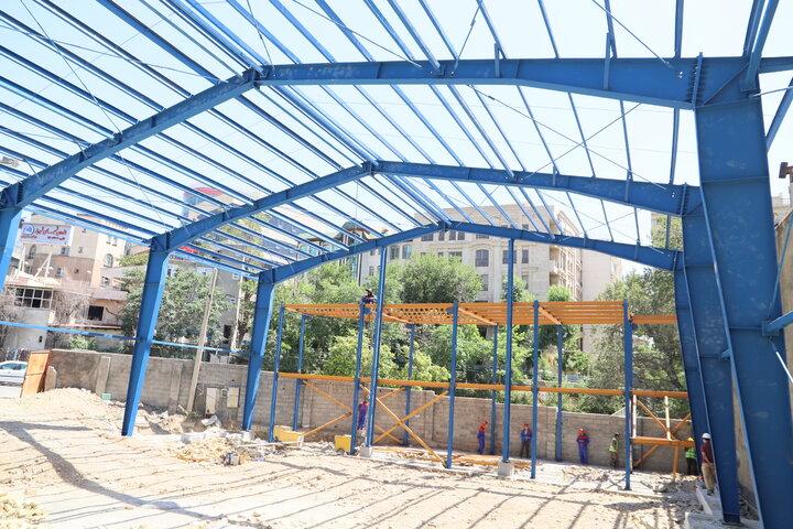 آغاز عملیات ساخت سالن ورزشی چند منظوره صدر