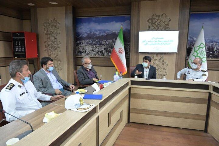 کاهش ۳۰ درصدی تلفات جانی در تصادفات شمال تهران با همکاری پلیس راهور