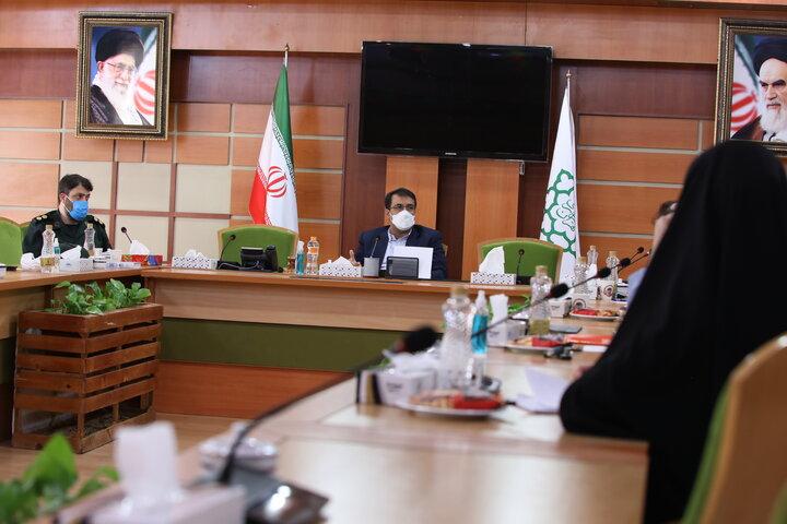 نشست مجمع خیرین منطقه ۱۷ با شهردار دارالشهدای تهران