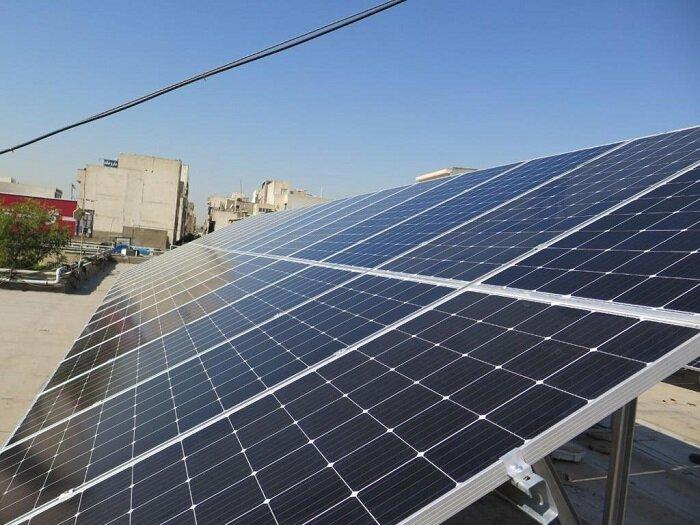 افتتاح نیروگاه خورشیدی در ساختمان شهرداری منطقه ۱۷