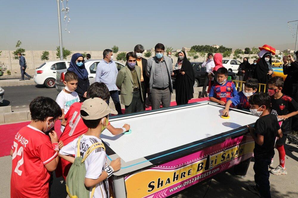 برگزاری جشنواره ورزشی تفریحی برای کودکان کار
