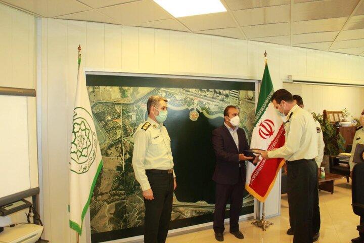 یگان حفاظت شهرداری تهران بازوی مدیریت شهری است