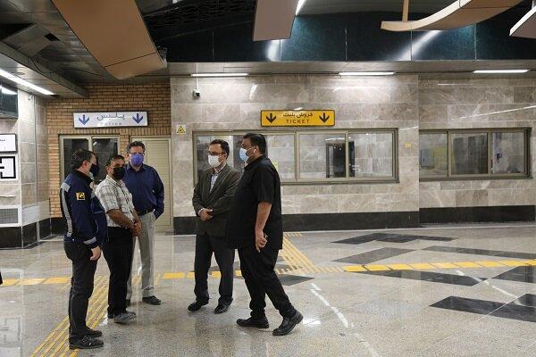 نصب ۶۲ آسانسور و ۲۸۰ پلهبرقی در ایستگاههای مترو