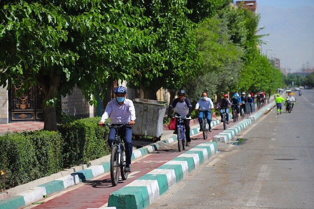 طرح نصب پارکینگ دوچرخه برای شهروندان در منطقه ۱۶