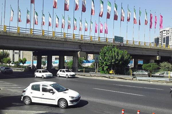 آغاز عملیات مقاوم سازی و بهسازی لرزه ای پل تقاطع یادگار امام(ره) با مرزداران