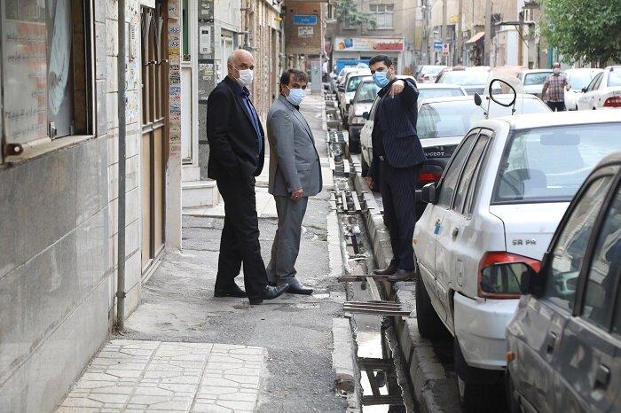 معضل ۴۰ ساله محله امامزاده حسن (ع) رفع شد