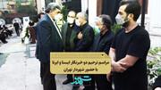 حضور شهردار در مراسم ترحیم خبرنگاران
