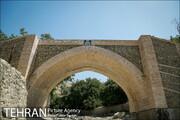 پایان مرمت پل تاریخی کن