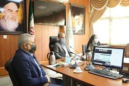 برگزاری جلسه کمیته  زیرساخت ستاد باز آفرینی پایدار کلانشهر تهران در منطقه ۱۶