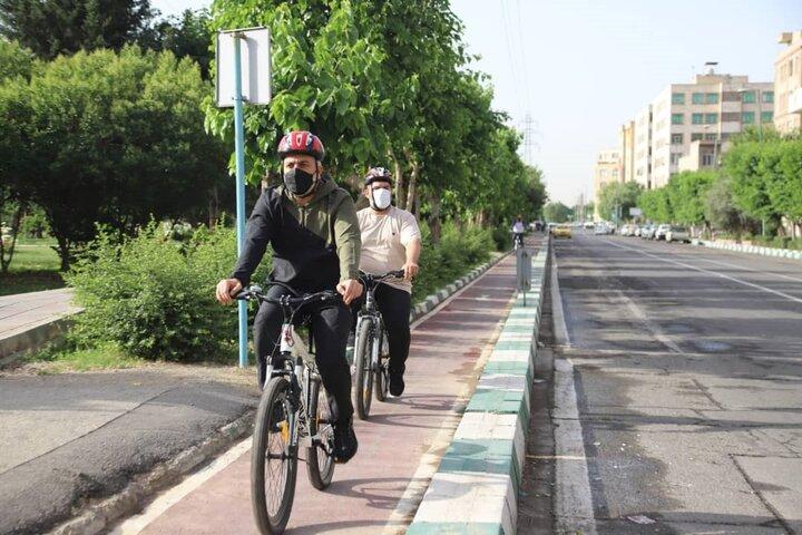 اتصال مسیرهای دوچرخه منطقه ۱۶