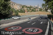 آیین افتتاح پروژه ۳۵ متری شهید مسعود افتخاری